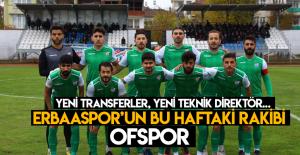 Erbaaspor ikinci yarıya evinde başlıyor