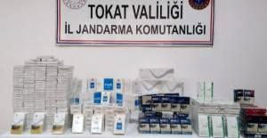 Kaçak sigara yakalanan şahıslara 11 bin 900 lira ceza