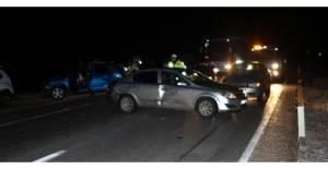 Tokat'ta zincirleme kaza: 6 yaralı
