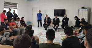 Başkan Karagöl'den Erbaaspor'a moral ziyareti