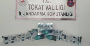 Erbaa ve Niksar'da kaçak sigara operasyonu