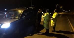 Tokat'ta 30 alkollü sürücüye 24 bin lira ceza kesildi