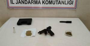 Tokat İl Jandarma'dan Erbaa'da uyuşturucu operasyonu