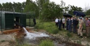 Niksar'da Jeotermal su ile fide üretilecek