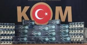 Erbaa'da kaçak sigara operasyonu