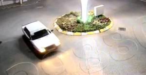 Kavşakta drift atan sürücüye 17 bin lira para cezası