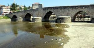 770 yıllık Selçuklu eseri köprüde restorasyon çalışması başladı