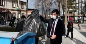 Erbaa'da vatandaşlar atık biriktirdikçe kazanacak