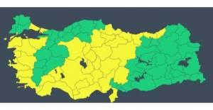 Meteoroloji#039;den 32 il için sarı...