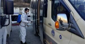 Niksar'da dezenfekte çalışmaları sürüyor