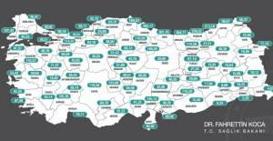 Tokat'ta artış sürüyor