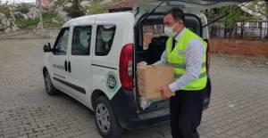 Turhal Belediyesi'nden ramazan yardımı