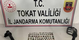 Tokat'ta, Roma döneminden 155 tarihi eser ele geçirildi