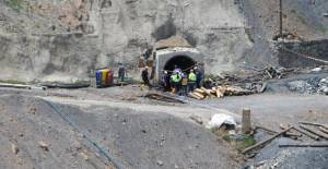 Turhal'da maden ocağında göçük