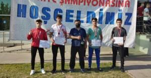 Erbaalı 4 sporcu 4 madalya kazandı