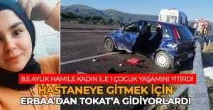 Tokat'ta feci kaza 2 ölü 4 yaralı