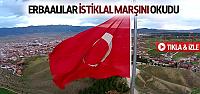 12 Mart'ın Yıldönümünde Erbaa'da İstiklal Marşı Klibi