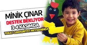 Lösemi Hastası Çınar İçin kampanya