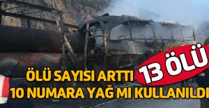 Çorum'daki kazada 11 ölü