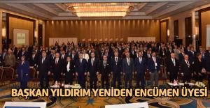 Başkan Hüseyin Yıldırım yeniden TBB'nin encümen üyesi seçildi