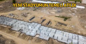 Yeni Erbaa Stadının temeli atıldı