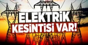 Erbaa merkez ve köylerinde elektrik kesintisi uygulanacak