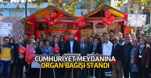 """Erbaa Devlet Hastanesi """"Organ Bağışı Standı"""" Açtı"""