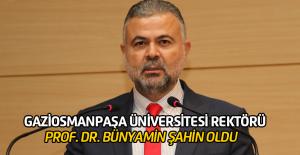 Gaziosmanpaşa Üniversitesi rektörü değişti
