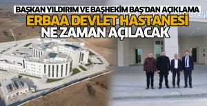 Erbaa'da 150 Yataklı Hastane İnşaatında Sona Gelindi