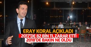 Erbaa Esnaf Odası Başkanı Eray Koral: 82 bin zarar nire, 96 bin kar nire?