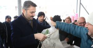 Tokat'ta Bez Torba Dağıtımı Yapıldı