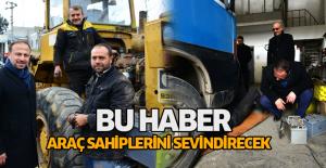 Başkan Yıldırım: Erbaa'ya sabit araç muayene istasyonunu getireceğiz