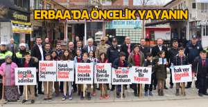 Erbaa'da Öncelik Yayanın