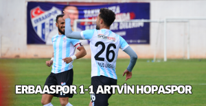 Erbaaspor 1-1 Artvin Hopaspor