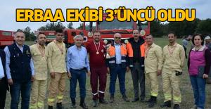 """Ateş Avcıları"""" En Hızlı Olmak İçin Yarıştı Erbaa ekibi 3'üncü oldu"""