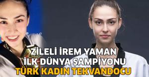 Zileli İrem Yaman tarih yazdı! 2. kez dünya şampiyonu
