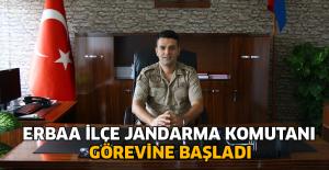 Erbaa İlçe Jandarma Komutanı Yüzbaşı Oğuz Kapusuz göreve başladı