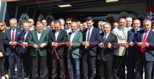 Erbaa'da fabrika ve okul açılışı