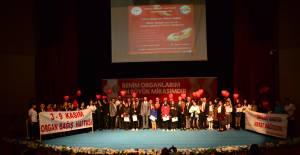 Erbaa'da organ bağışı programı düzenlendi