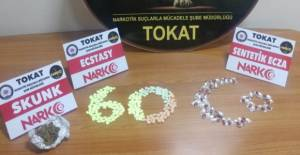 Tokat'ta uyuşturucu operasyonunda 5 tutuklama
