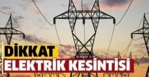 Erbaa dahil çok sayıda ilçede elektrik kesintisi yaşanıyor