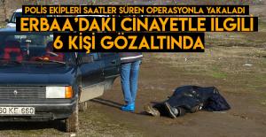 Erbaa'daki cinayetle ilgili 6 kişi gözaltına alındı