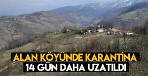 Erbaa Alan Köyünde karantina 14 gün uzatıldı