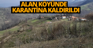 Erbaa'daki o köyde karantina sona erdi