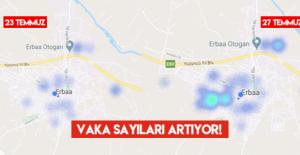 Erbaa'da 4 günde dikkat çeken korona artışı