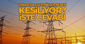 Erbaa'da elektrikler neden kesiliyor?