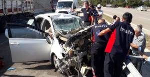 Niksar Erbaa yolunda kaza