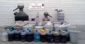 Tokat'ta sahte içki operasyonu: 6 gözaltı