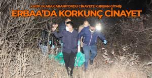 Erbaa'da korkunç cinayet