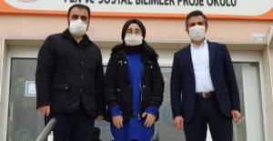 Yeşilay'ın düzenlediği yarışmada Erbaalı öğrenci birinci oldu